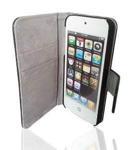 Bear Motion Luxury 100 Percent Genuine Lambskin Case for iPhone 5S