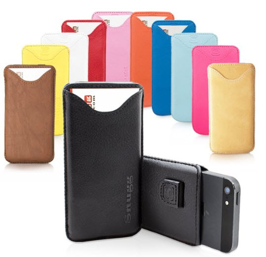 Snugg iPhone 5S Leather