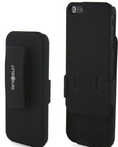 Minisuit Clipster Kick Stand Case and Belt Clip